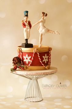 Steadfast Tin Soldier - Home for the Holidays Collaboration by Darcey Oliver Cake Couture
