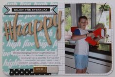 Project Life Week 23 using Flutterby Designs products