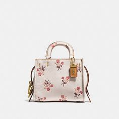 Coach Rogue 17 With Floral Bow Print (€315) ❤ liked on Polyvore featuring bags, handbags, shoulder bags, coach purses, floral handbags, floral shoulder bag, crossbody handbag and crossbody purse