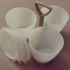 Vintage Tupperware Condiment Serving Tray by KatsGoodStuff on Etsy
