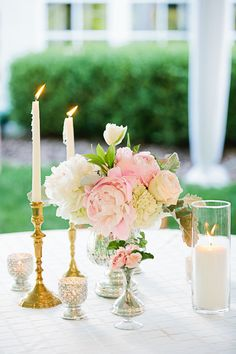 Pink Wedding by Lauren Friday and The Graceful Host - Southern Weddings Magazine