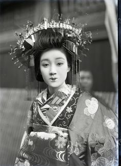 Oiran, about 2nd quarter 20th century