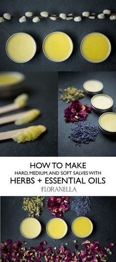 Kosmetik NEU How to Make Salves with Herbs and Essential Oils – Floranella Rethinking Time-Out Paren Making Essential Oils, Essential Oil Uses, Essential Oils Soap, Natural Medicine, Herbal Medicine, Herbal Remedies, Natural Remedies, Health Remedies, Natural Treatments
