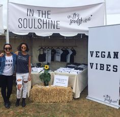 "2,338 Likes, 41 Comments - IN THE SOULSHINE (@inthesoulshine) on Instagram: ""Can't believe we're here!! Yayyy!!!! 😄😄😄 #Portland @veganbeerfest 🍺🇺🇸 Come say hey 👋 #veganbeerfest…"""