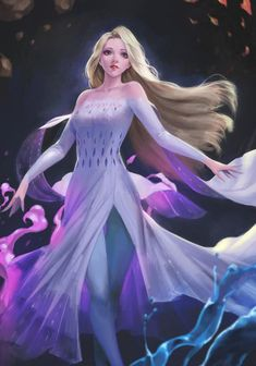 Fantasy Art Finds - Art by phamoz Cute Disney Drawings, Disney Princess Drawings, Disney Princess Frozen, Anime Princess, Elsa Frozen, Elsa Anime, Frozen Fan Art, Frozen Wallpaper, Frozen Pictures