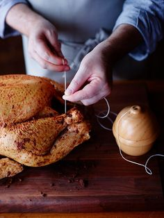 How to truss the turkey
