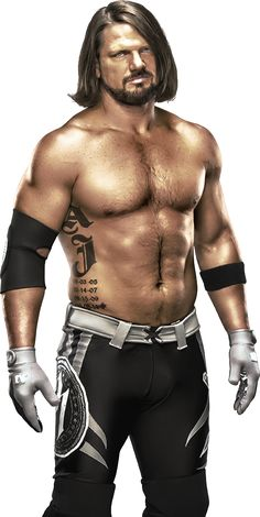 Edited AJ Styles PNG by DarkVoidPictures on DeviantArt