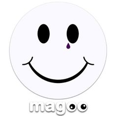 Magoo 180 Goth Smiley Magnetic Tax Disc Holder: Amazon.co.uk: Car & Motorbike