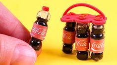 DIY Miniature Coca-Cola Bottle ~ Soda Bottle
