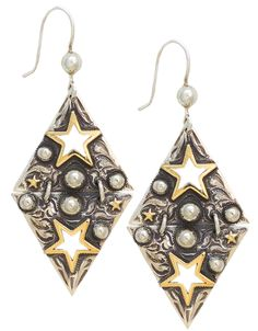 c4d1982a4 14K Gold Fill Star Chandeliers Star Chandelier, Silver Chandelier,  Chandelier Earrings, Western Jewelry