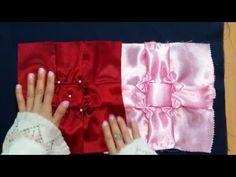 الشكل الثالث من غرزة زهرة الياسمين المقلوبة - YouTube