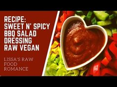 Raw food recipe for crunchy bbq chips 622 youtube all raw recipe sweet and spicy bbq salad dressing raw food vegan youtube forumfinder Choice Image