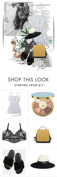 """""""Untitled #1448"""" by maja-k ❤ liked on Polyvore featuring tarte, Lanvin and Memo Paris"""
