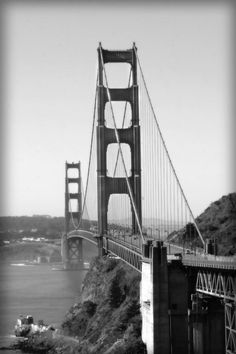 San Francisco art  Golden Gate Bridge  by freezeframefoto on Etsy, $24.95