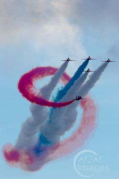 Blog about the Red Arrows at Bournemouth Air Festival
