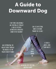 How To Do Downward Dog #Yoga #Downward