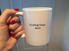 Coffee cup gift idea for the best cool Aunt ever .
