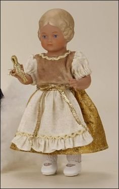 Schildkröt 8418740 Bärbel als Goldmarie, 18 cm, Puppe 4029468916230 | eBay