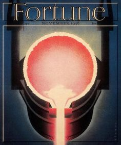 Fortune, November 1938  Illustration: Joseph Binder, art director: Francis Brennan