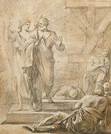 Oraciones de poder en la Biblia: Obra de Laurent de La Hyre, Francia, cerca del 1647
