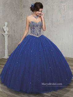 Vestidos Azules De Quinceañera