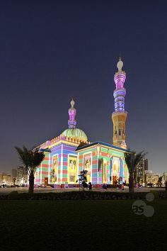 Mosque, Al Majaz Park ~ Sharjah, United Arab Emirates