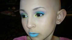 Talia is a brave 13 year old who had cancer. She is an amazing makeup artist.