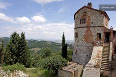 Torre Moreschini in Montefollonico (Tuscany)