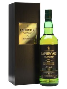 Laphroaig 25 Year Old / Cask Strength / Bot.2013 Scotch Whisky : The Whisky Exchange