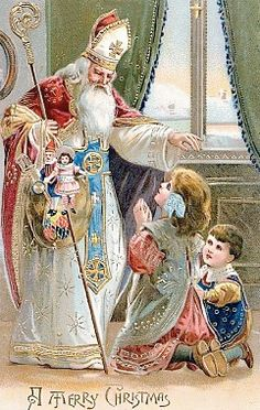 Dit is geen kerstkaart,Sinterklaas is jarig op 6/december en Kerstmis is op 25 en 26 december, dus is het een fijne Sinterklaas avond/dag  lb xxx.QQQ