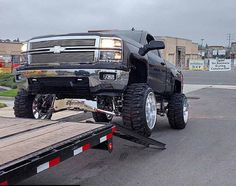 Custom lifted Chevy