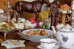 Afternoon Tea at the Kentucky Derby
