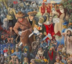 The passing parade of the four horseman or life wasn't meant to be easy | Ivor FRANCIS | NGV