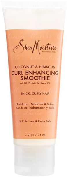 SheaMoisture Coconut and Hibiscus Curl Enhancing Smoothie Travel