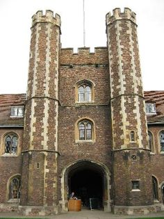 Margaret of Anjou, Henry VIs wife, and Elizabeth Woodville, Edward VIs wife, founded this small and intimate college at Cambridge University. Margaret Of Anjou, Vikings, Renaissance, Queen's College, British Things, Wars Of The Roses, Cambridge University, Beautiful Castles, England Uk