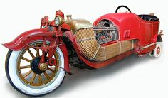 The 1913 Scripps-Booth Bi-Autogo - powered by the very first V8 engine that was made in Detroit.