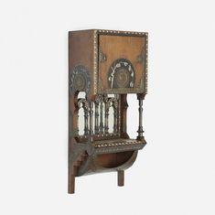 Carlo Bugatti wall-mounted cabinet