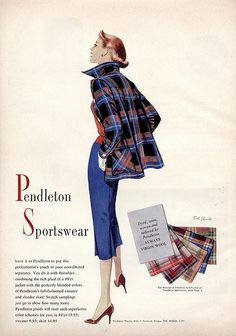 Pendelton has the best wool clothes!