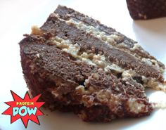 German's Chocolate Whey Protein Cake › Protein Pow
