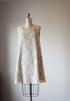 Dress+Creme+Lase++/Gray+/++Bridesmaids+++Bride+by+AtelierSignature,+$99.99