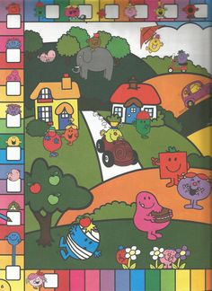 Mr. Men Little Miss Magazine - Beefeater Special Issue - Page 5