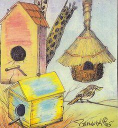 Bird Houses (NATURE-08) Daniel Ranolph, Artist