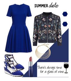 """""""Untitled #139"""" by styleability on Polyvore featuring Alexander McQueen, Needle & Thread, Wolf & Moon and Robert Lee Morris"""