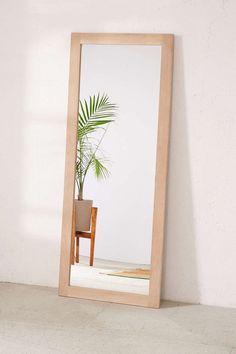 Simple Wooden Mirror, $149
