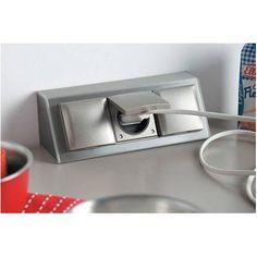 Prise et multiprise encastrer dans le plan de travail - Prise electrique encastrable cuisine ...