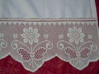This Pin was discovered by Apr Crochet Edging Patterns, Filet Crochet Charts, Crochet Lace Edging, Crochet Borders, Lace Patterns, Thread Crochet, Crochet Designs, Crochet Doilies, Crochet Stitches
