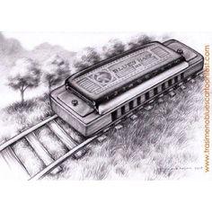 Harmonica train
