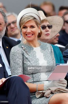 Queen Maxima of the Netherlands attends the Belgian federal government ceremony to commemorate the bicentenary of the Battle of Waterloo on June 18, 2015 in Waterloo, Belgium.