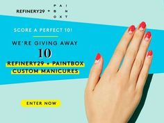 Win a Refinery29 + Paintbox manicure! Enter now: http://r29.co/1SdDZpM