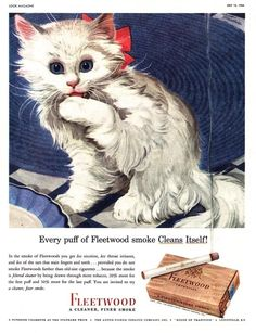 """Cats in Art, Illustration and Advertising